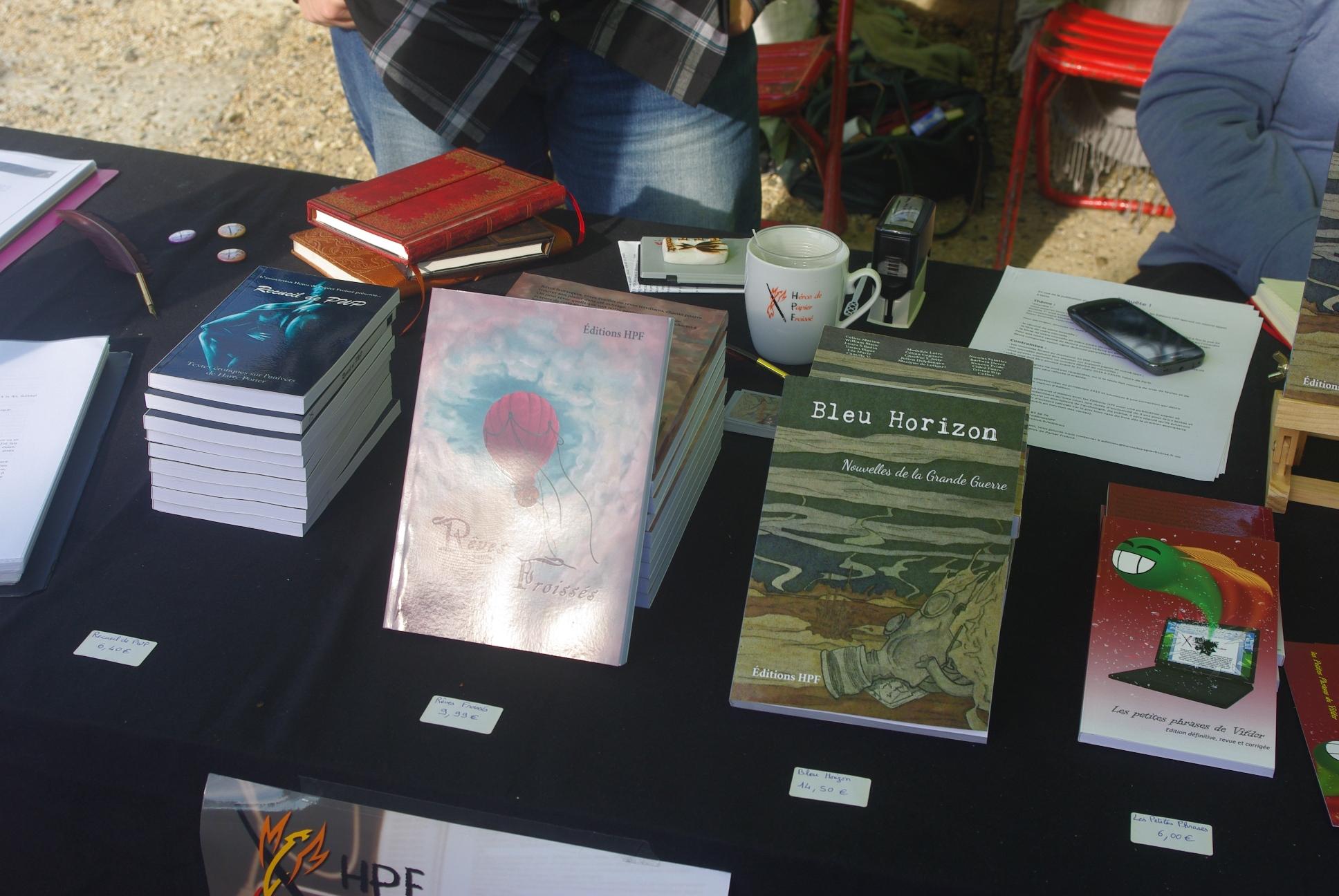 Les livres d'HPF