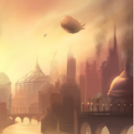 Gros plan zeppelin